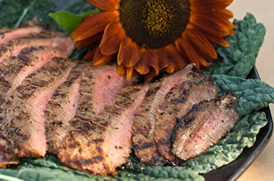 Flank Steak Menu Item